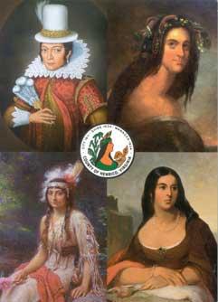 Four_Pocahontas_painting