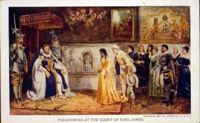 Pocahontas-at-Court-of-King-James.-Photo-Library-of-Congress