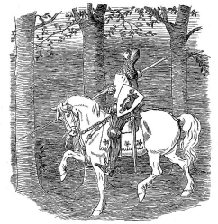 Drawing_of_a_Knight_on_Horseback