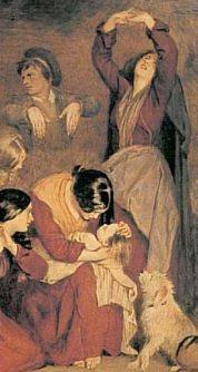 Burton_The_Aran_Fisherman_s_Drowned_Child_1841_Keening_woman-316x593